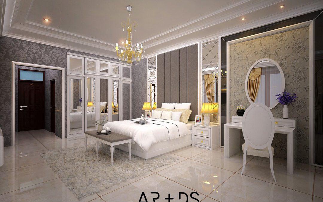 Interior Ruang Tidur Utama – Interior
