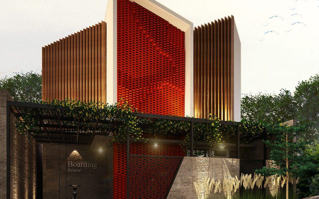 M. Boarding House – Arsitektur